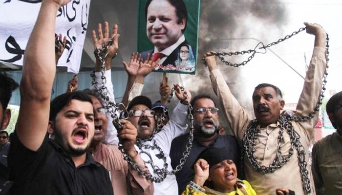 لاہورمیں لیگی کارکنان کی گرفتاریاں،شاہرائوں پر کنٹینرز