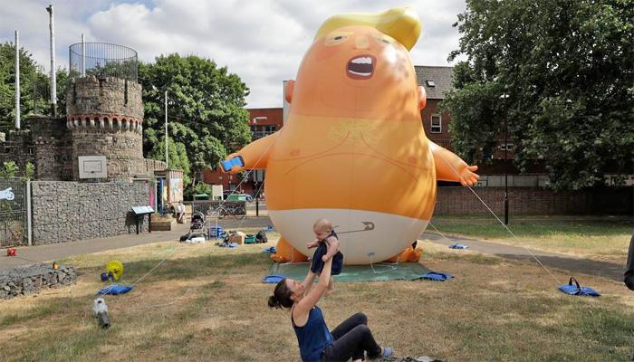 امریکی صدر کا دورہ برطانیہ کل شروع ہورہا ہے