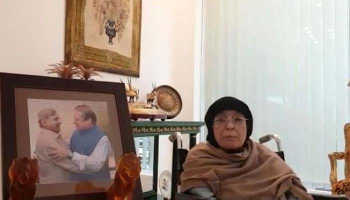 اگربچوں کو جیل بھیجا تو میں بھی ساتھ جاؤں گی، والدہ نواز شریف