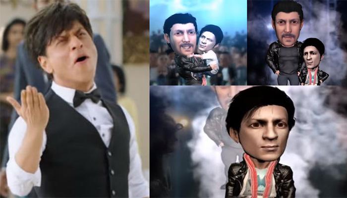کنگ خان کے مداح نے فلم 'زیرو کے ٹیزر کی کاپی بنا ڈالی