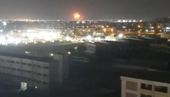 مصرکےقاہرہ ایئرپورٹ کے قریب دھماکا، پروازیں معطل