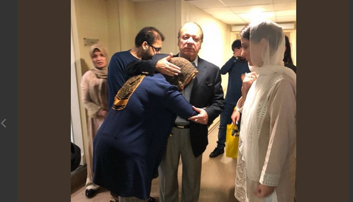 نواز اور مریم لندن سے ابو ظہبی پہنچ گئے