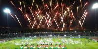 عالمی کپ کی اختتامی تقریب، مشعل قطر کے سپرد