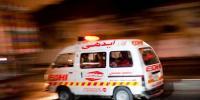 حیدرآباد، ٹریلر اور بس میں تصادم، 10 افراد جاں بحق