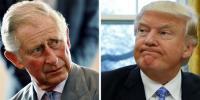 شہزادہ چارلس اور ولیم نے ٹرمپ سے ملنے سے انکار کر دیا
