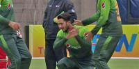 حسن علی کو وکٹ لینے کا جشن منانا مہنگا پڑگیا