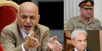 افغان صدر کانگراں وزیراعظم اور آرمی چیف کو ٹیلی فون