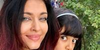 ایشوریا نے بیٹی کے ہمراہ ورلڈ کپ کا جشن پیرس میں منایا