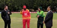 زمبابوے کا پاکستان کیخلاف ٹاس جیت کر بیٹنگ کا فیصلہ
