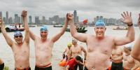 چین میں سالانہ تیراکی کے دلچسپ مقابلے کا انعقاد