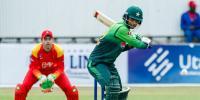 پاکستان نے زمبابوے کو تیسرے ون ڈے میں شکست دے دی