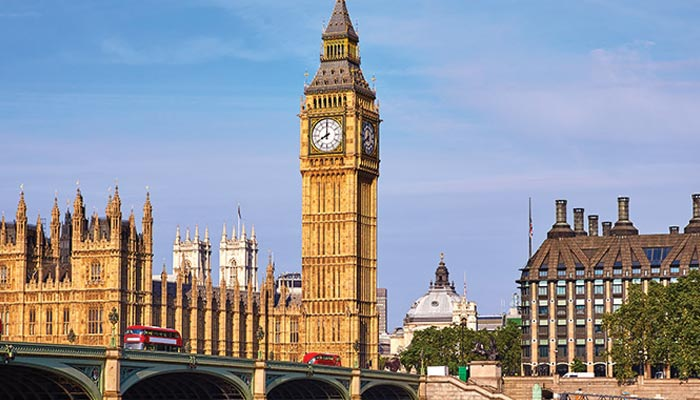''بگ بین'' لندن کا تاریخی گھنٹہ گھر