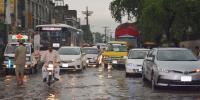 پنجاب میں موسلا دھار بارش نے جل تھل ایک کر دیا