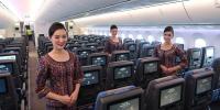 سنگا پور ایئر لائنزچوتھی بار دنیا کی بہترین ایئر لائن قرار