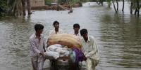 کیرتھر: موسلادھار بارشوں سے ندی نالوں میں طغیانی