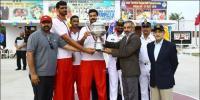 پاکستان آرمی نے انٹر سروسز باسکٹ بال چیمپئن شپ جیت لی