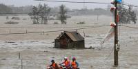 ویتنام میں سمندری طوفان ، 20 افراد ہلاک