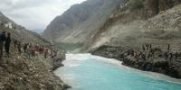 غذر کی جھیل کے اسپل وے سے40 فیصد پانی کا اخراج
