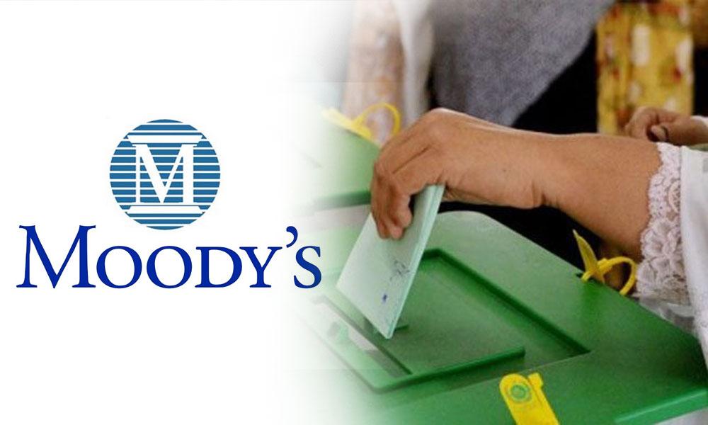 نئی حکومت کیلئے بڑا چیلنج ٹیکس بیس کا وسیع نہ ہونا ہے: موڈیز