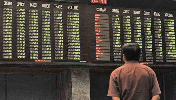 بازار حصص، 100انڈیکس 770پوائنٹس کے اضافے پر بند