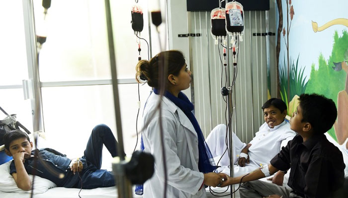 پاکستان میں تھیلیسیمیا مائنر سے متاثرہ افراد کی تعداد 70 لاکھ سے زائد