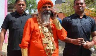 بھارت میں سونے کا شوقین 'گولڈن بابا'