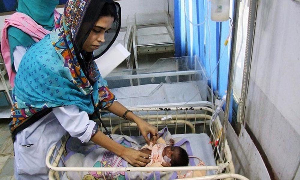 مٹھی: غذائیت کی کمی سے 2بچے انتقال کر گئے