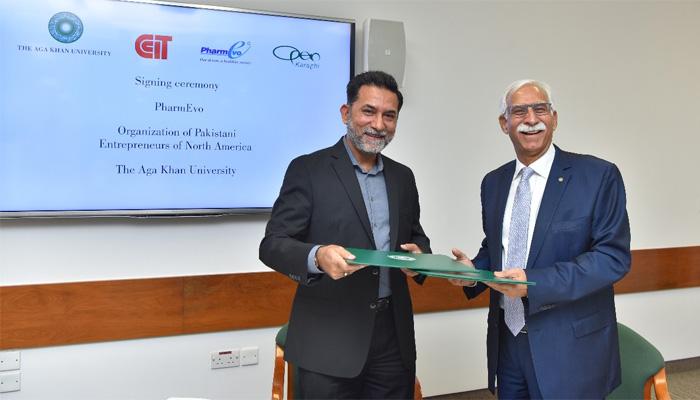 پاکستانی نژاد امریکیوں کی تنظیم اور دواساز کمپنی میں معاہدہ