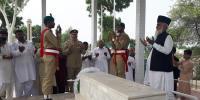 میجر طفیل محمد شہید کے مزار پرخصوصی تقریب