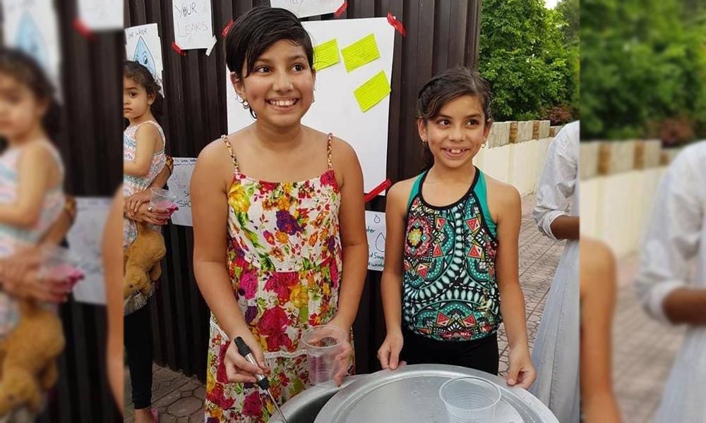 بہنوں کا ڈیم کے لیے فنڈز جمع کرنے کا انوکھا انداز