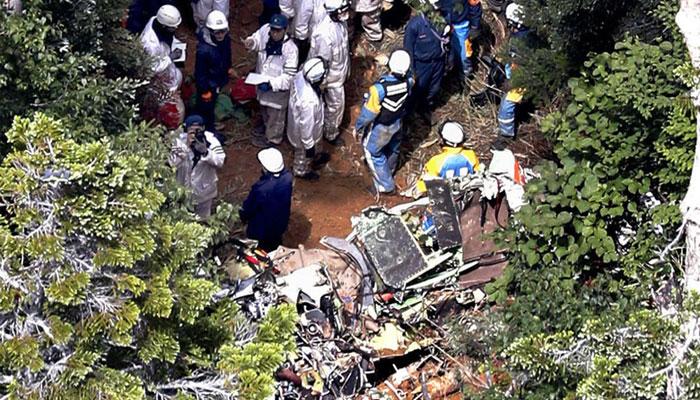 جاپان میں ہیلی کاپٹر حادثہ، 9 افراد ہلاک
