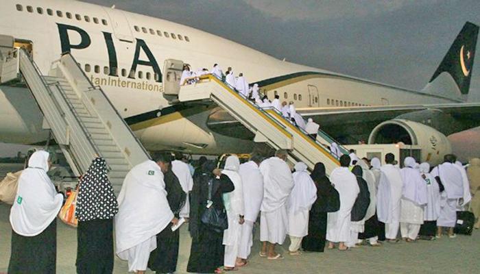 پی آئی اے کی پرواز 70حاجیوں کو چھوڑ کر جدہ روانہ