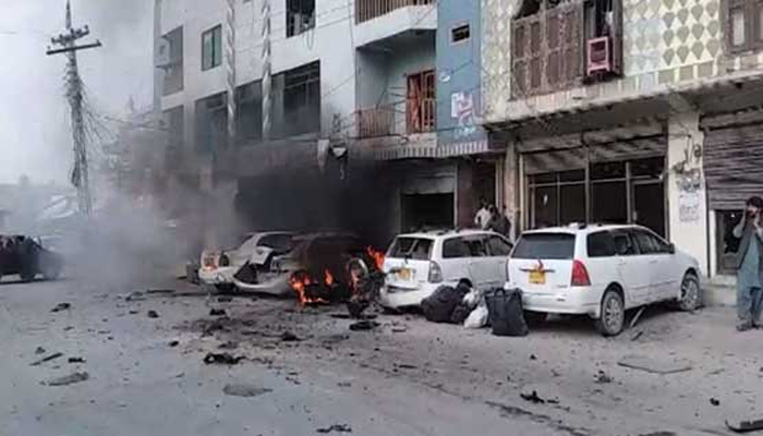 چمن :ریموٹ کنٹرول دھماکےمیں ایک شخص جاں بحق ، 10زخمی