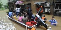 چین کے جنوبی صوبے میں طوفانی بارشیں