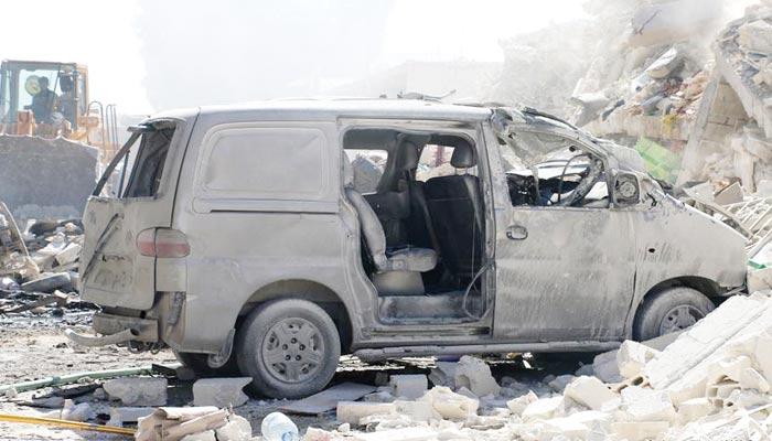شام کا صوبہ ادلب بڑی تباہی کا شکار