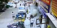 چین :اسٹور میں گیس لیکج کے باعث زودار دھماکا