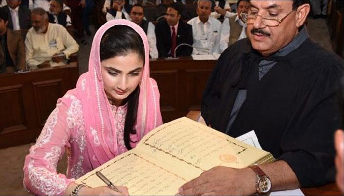 پاکستان کی کم عمرترین رکن اسمبلی کون ہے؟