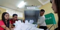 کمبوڈیا کے پارلیمانی انتخابات ،حکمران جماعت فاتح