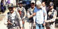 کراچی، قربانی کے جانور کیساتھ ہتھیار لیکر چلنے والا گرفتار