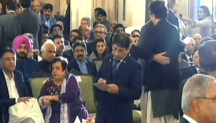 عمران خان کی حلف برداری، تصویری جھلکیاں