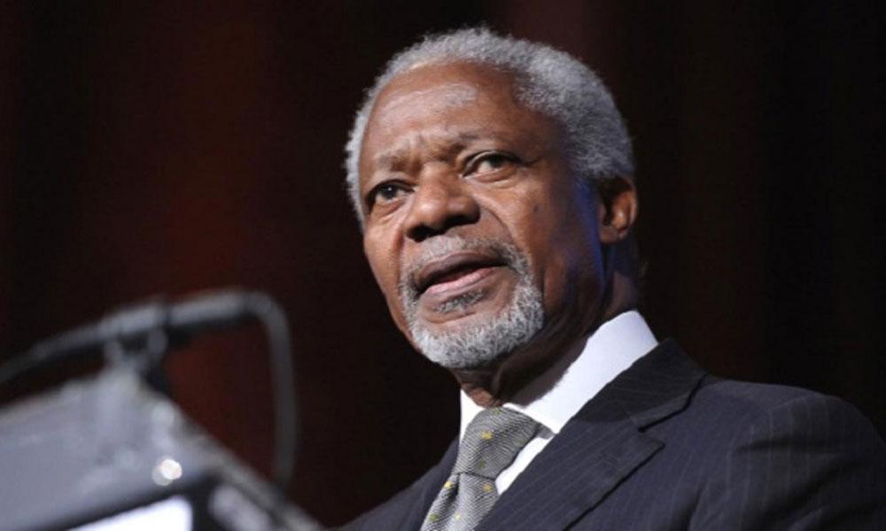 اقوام متحدہ کے سابق سیکریٹری جنرل کوفی عنان انتقال کرگئے