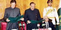 عمران خان نے وزیر اعظم کا حلف اٹھالیا