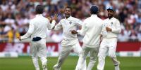 ناٹنگھم ٹیسٹ: انگلینڈ 161پر ڈھیر، بھارت کو 292رنز کی برتری