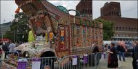 اوسلو میں کثیرالاثقافتی میلہ ،پاکستانی ثقافت کے رنگ نمایاں