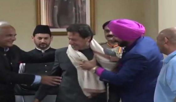 'سدھو امن کےسفیر، پاکستان آمد پر شکریہ'