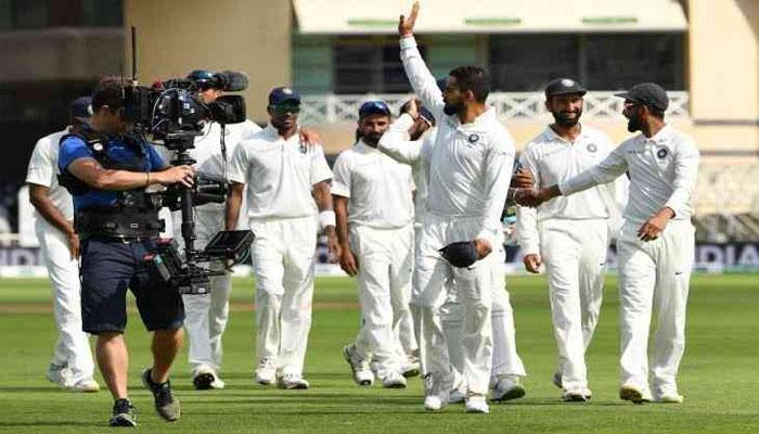 انگلینڈ کو 203 رنز سے شکست، سیریز میں بھارت کی پہلی فتح