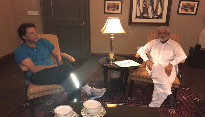 وزیراعظم عمران خان کی نامزد چیئرمین پی سی بی احسان مانی سے ملاقات