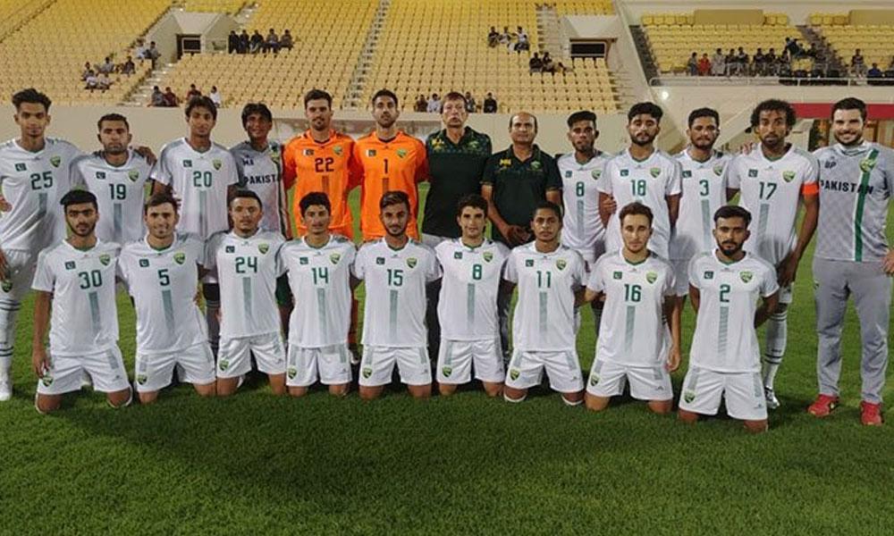 قومی فٹ بال ٹیم کی وطن واپسی