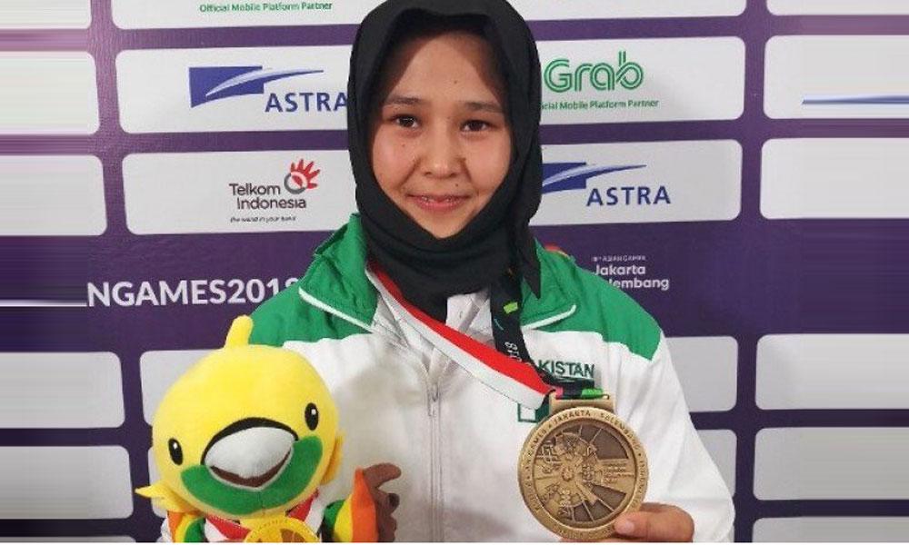 کوئٹہ کی خاتون کھلاڑی کی ایشین گیمز میں شاندار کارکردگی