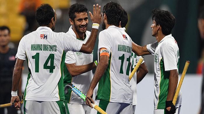 ایشین گیمز ہاکی میں پاکستان کامیاب، ملائیشیا کو شکست